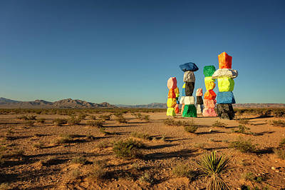 Antlers - Seven Magic Mountains III by Ricky Barnard