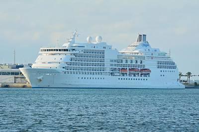 Photograph - Seven Seas Navigator At Port by Bradford Martin