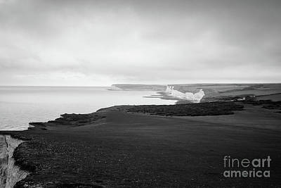 Photograph - Seven Sisters White Cliffs by Perry Rodriguez