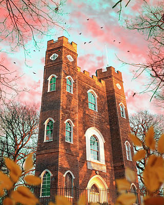 Photograph - Severndroog Castle by Gabor Estefan