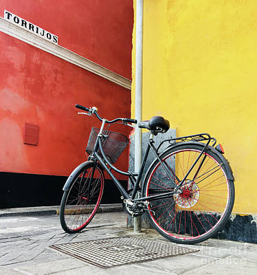 Photograph - Seville Bicycle by Elena Nosyreva