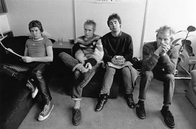 Photograph - Sex Pistols by Evening Standard