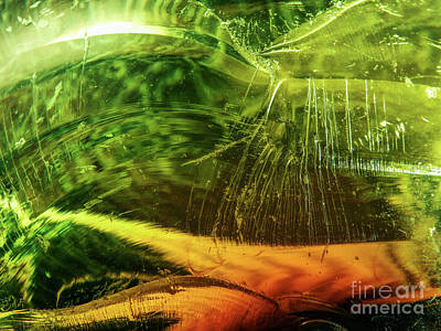 Photograph - Shades Of Green Glass by Phil Perkins