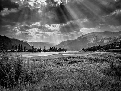 Photograph - Shades Of Montana by David Heilman
