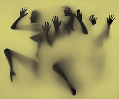Photograph - Shadow Art Using Light Box by Diane Seddon Photography