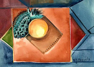 Painting - Shadow Of My Love by Sheri Jo Posselt