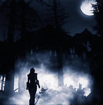 Zen - Shadow of the Moon - 16  by AM FineArtPrints