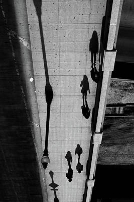 Photograph - Shadow Walk by David Oakill
