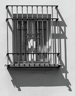 Photograph - Shadow Window Of Spain by David Letts