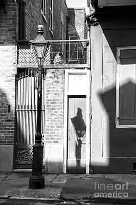 Photograph - Shadows In The French Quarter New Orleans by John Rizzuto