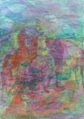 Painting - Shadows Of Ancestors by Irina Dobrotsvet