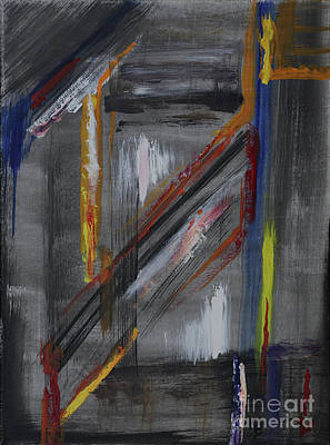 Painting - Shaft by Karen Fleschler