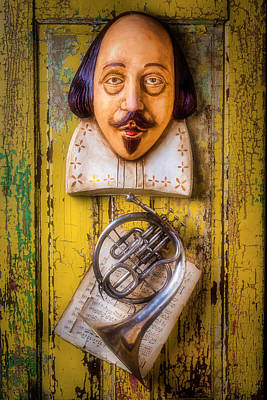 Photograph - Shakespeare And French Horn by Garry Gay