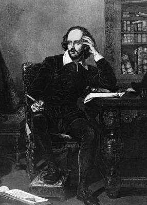 Shakespeare Art Print by Hulton Archive
