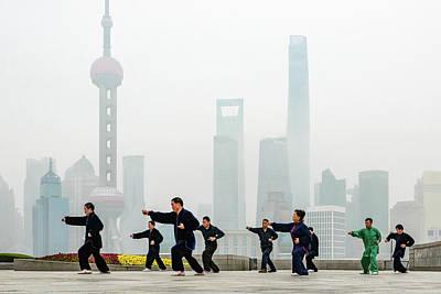 Photograph - Shanghai Morning Tai Chi by Ian Robert Knight