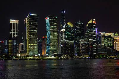 Photograph - Shanghai Skyline II by Aashish Vaidya