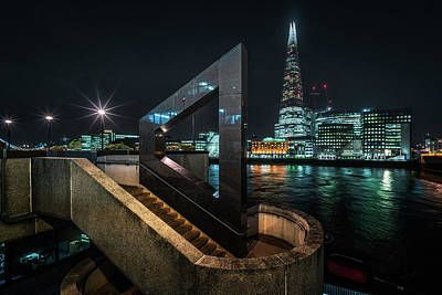 Photograph - Shard From The North Bank by James Billings