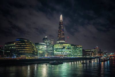 Photograph - Shard From Tower Bridge by James Billings