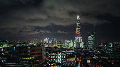 Photograph - Shard Night by James Billings