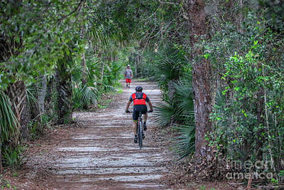 Photograph - Share The Trail by Tom Claud