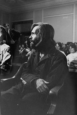 Photograph - Sharon Tate Deathcharles Manson by Vernon Merritt Iii