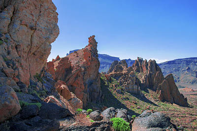 Photograph - Sharp-edged Rocks In The Teide National Park by Sun Travels