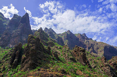 Photograph - Sharp Rocks In The Teno Massif by Sun Travels