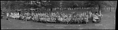 Animals Paintings - Shaw and Begg Ltd  Annual Picnic  High Park Toronto Ontario 1930 by Celestial Images