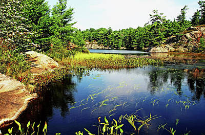 Photograph - Shawanaga Shallows by Debbie Oppermann