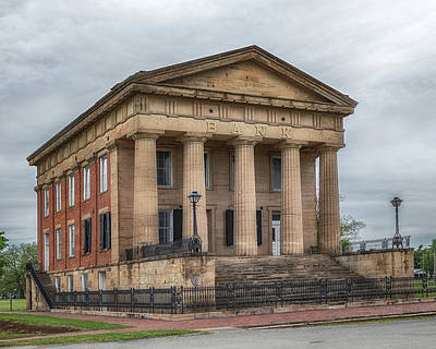 Photograph - Shawneetown Bank by Susan Rissi Tregoning