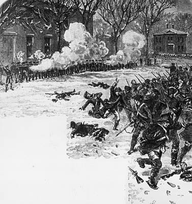 Shays Rebellion Art Print by Hulton Archive