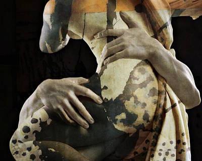 Emotion Wall Art - Digital Art - She by Paul Lovering