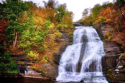 Photograph - She-qua-ga - Montour Falls - Finger Lakes, New York by Lynn Bauer