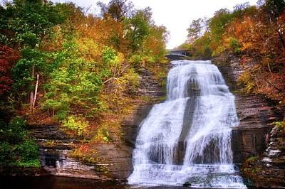 Art Print featuring the photograph She-qua-ga - Montour Falls - Finger Lakes, New York by Lynn Bauer