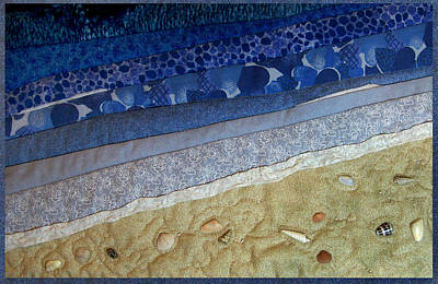 She Sews Seashells On The Seashore Art Print