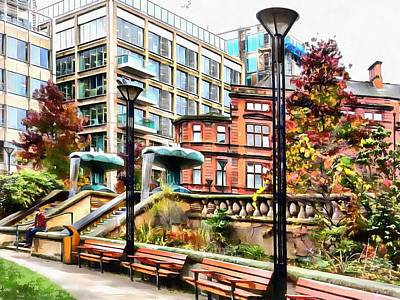 Photograph - Sheffield Peace Gardens by Dorothy Berry-Lound