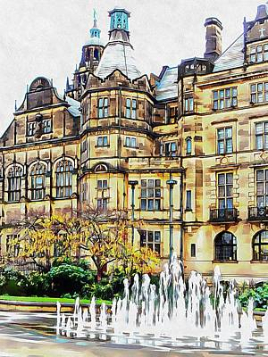 Photograph - Sheffield Town Hall 2 by Dorothy Berry-Lound