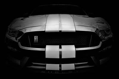 Photograph - Shelby Mustang Gt350 - American Muscle Car - Ford Mustang by Jason Politte