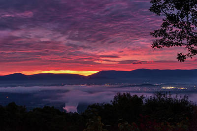 Photograph - Shenandoah Valley Dawn by Lara Ellis