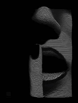 Digital Art - Shhh by ISAW Gallery
