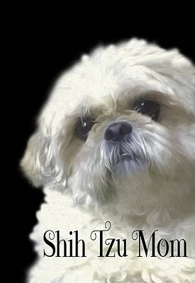 Photograph - Shih Tzu For Mom by Ericamaxine Price