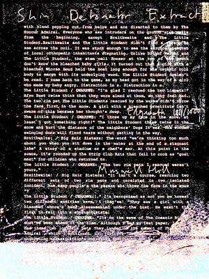 Relief - Shin Detonator Book Dada Page 101r2 by Artist Dot