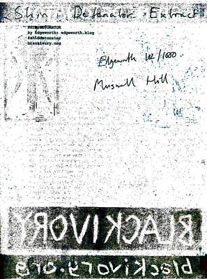 Relief - Shin Detonator Book Dada Page 102r1 by Artist Dot