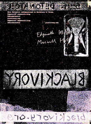 Relief - Shin Detonator Book Dada Page 103r2 by Artist Dot