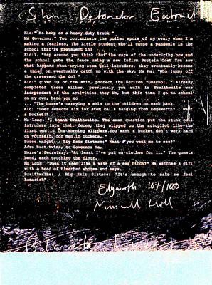 Relief - Shin Detonator Book Dada Page 107r2 by Artist Dot