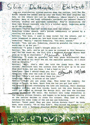 Relief - Shin Detonator Book Dada Page 108r1 by Artist Dot