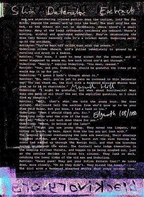 Relief - Shin Detonator Book Dada Page 108r2 by Artist Dot