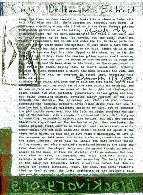 Relief - Shin Detonator Book Dada Page 113r1 by Artist Dot
