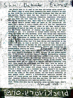 Relief - Shin Detonator Book Dada Page 115r1 by Artist Dot