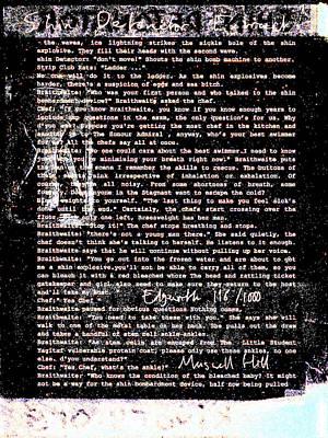 Relief - Shin Detonator Book Dada Page 116r2 by Artist Dot